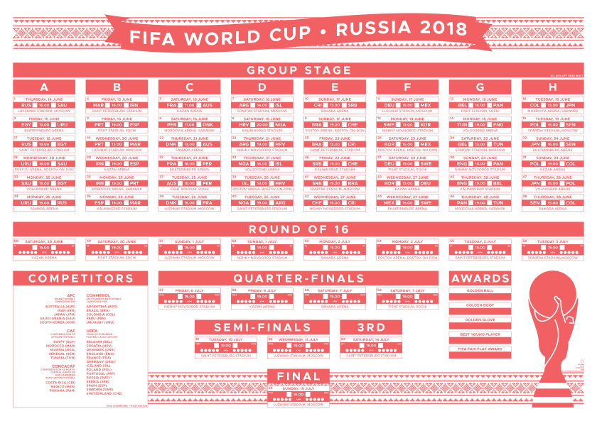 World Cup Wall Chart A3-01